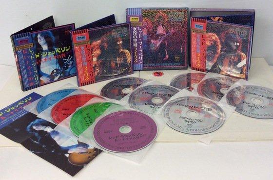 LED ZEPPELIN / SNOWBLIND 19&20 + DEUS EX MACHINA 21 SET - Red Ring Records