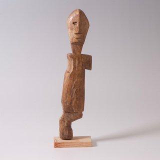 アダン族 呪術人形 片眼、片手、片足の精霊像