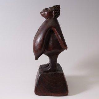 アフリカ部族の木彫り ヴィーナス土偶のような裸婦像