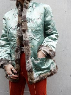 【CHINA FUR JACKET】