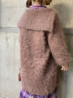 【MOHAIR KNIT JACKET】