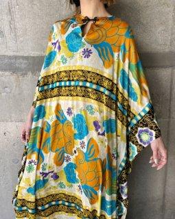 【1960s Koi MOTIF DRESS】
