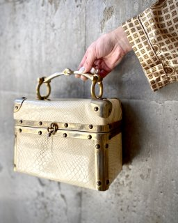 【VINTAGE BOX BAG】