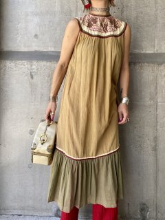 【1970s PHOOL RAYON DRESS】