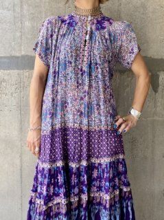 【1970s INDIA COTTON DRESS】