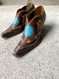 <img class='new_mark_img1' src='//img.shop-pro.jp/img/new/icons14.gif' style='border:none;display:inline;margin:0px;padding:0px;width:auto;' />【LEATHER WESTERN SHOES】