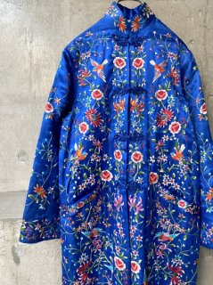 【1950s EMBROIDERED SILK CHINA JACKET】