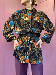 【FLOWER PATTERN SHIRT】