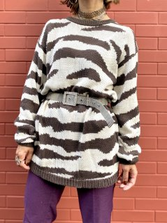 【ZEBRA COTTON KNIT】