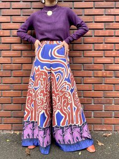 <img class='new_mark_img1' src='//img.shop-pro.jp/img/new/icons14.gif' style='border:none;display:inline;margin:0px;padding:0px;width:auto;' />【1970s UNICORN WIDE PANTS】