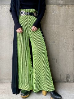 【NEON COLOR KNIT PANTS】