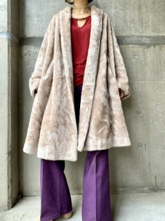 【1950s FAUX FUR COAT】