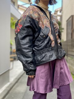 <img class='new_mark_img1' src='//img.shop-pro.jp/img/new/icons14.gif' style='border:none;display:inline;margin:0px;padding:0px;width:auto;' />【1980s LEATHER JACKET】