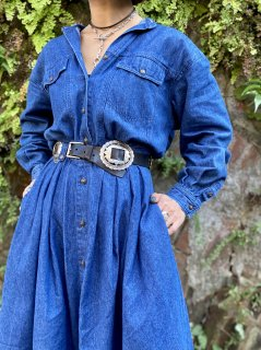 【DENIM DRESS】