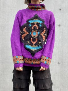 【DESIGN KNIT SWEATER】