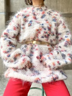 <img class='new_mark_img1' src='https://img.shop-pro.jp/img/new/icons14.gif' style='border:none;display:inline;margin:0px;padding:0px;width:auto;' />【MOHAIR KNIT SWEATER】
