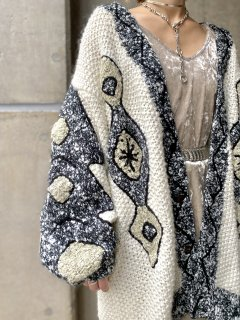 <img class='new_mark_img1' src='https://img.shop-pro.jp/img/new/icons14.gif' style='border:none;display:inline;margin:0px;padding:0px;width:auto;' />【1980s OVERSIZED KNIT CARDIGAN】