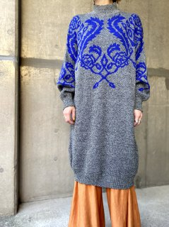 <img class='new_mark_img1' src='https://img.shop-pro.jp/img/new/icons14.gif' style='border:none;display:inline;margin:0px;padding:0px;width:auto;' />【1980s KNIT DRESS】