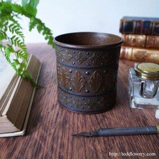 Antique Arts & Crafts Copper Pot