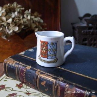 大聖堂の想い出とともに/Victorian Crested China Vase