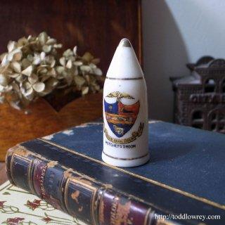 ヴィクトリアンのちいさな光と影/Victorian Crested China Vase