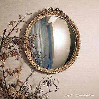 魔女の眼をもつ凸面鏡/Antique Convex Mirror