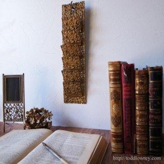 ヴィクトリアンを旅する豪奢な佳品/Victorian Folding Letter Rack