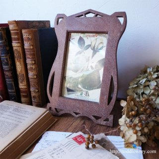 Vintage Art Art Nouveau Style Photo Frame