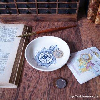 サセックス王国の末裔を護る忠実な番犬 / Vintage Sussex Police Small Plate