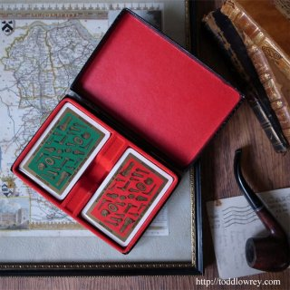 ネジとボルトと老舗のカード / Vintage Waddingtons FINE PLAYING CARDS exclusive to Williams Brothers