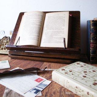いかにして本を読むのか / Antique Folding Oak Book Stand