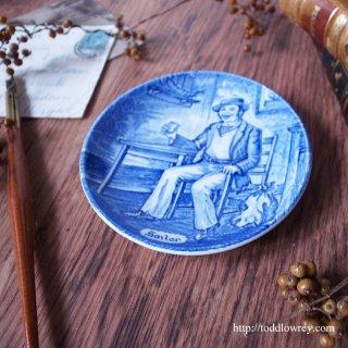 港の酒場でたのしく一杯 / Vintage Enoch Wedgwood Small Plate