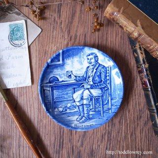 狩りの途中で軽く一杯 / Vintage Enoch Wedgwood Small Plate