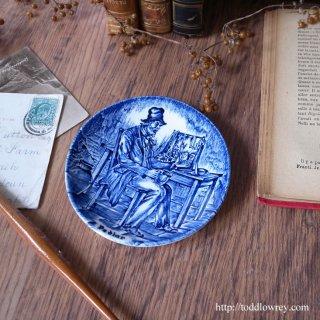 店を広げながらちょっと一杯 / Vintage Enoch Wedgwood Small Plate