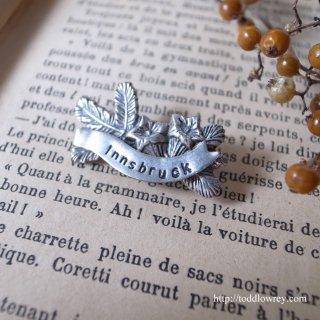 アルプスの裾野から / Vintage Flower Brooch