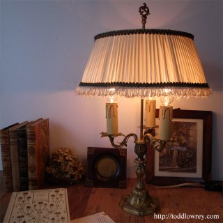 パリ・狂騒の20年代を想う /Antique French Table Lamp