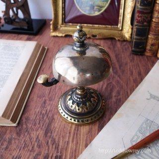遥か過去から響く音色は高く柔らかく / Antique Victorian Brass Counter Bell