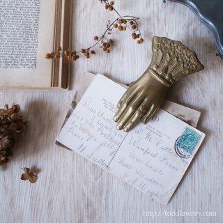 Antique Victorian Hand Clip