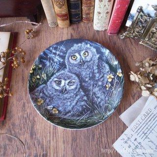 英国の名窯がつくりだす小さな使い魔 / Vintage Wedgewood The Baby Owls Plate