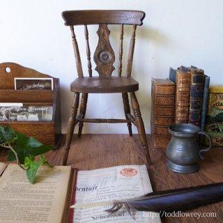 英国庶民の暮らしに寄り添うウィンザーチェア / Vintage Miniature Windsor Chair