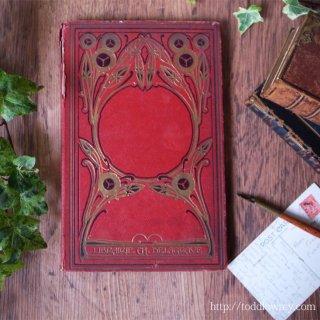 アールヌーヴォーの花で飾られた童話 / Antique French Book