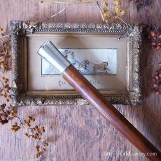 そっけなく硬派なヴィクトリアンの佳品 / Antique Victorian Walking Stick with Malacca Cane