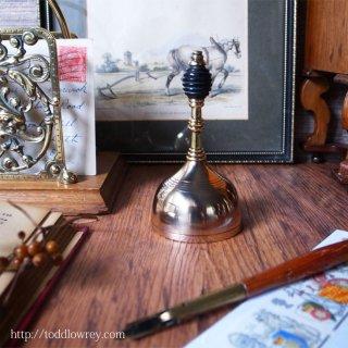 甘い記憶を響かせて / Antique Victorian Beehive Brass Table Bell