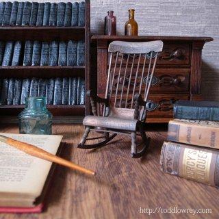 気苦労とロッキングチェア / Vintage Miniature Rocking Chair