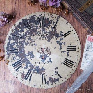 ヴィクトリアンの鉄道駅から / Antique Railway Dial Clock Face By John Walker