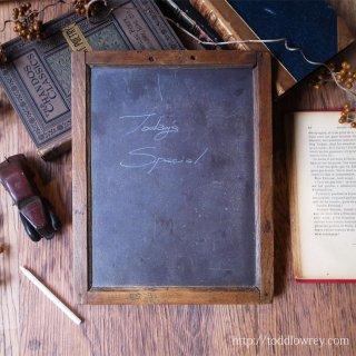 ヴィクトリア時代の子供達から / Antique Victorian School Slate Board