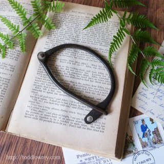 英国の兵士が締めたDリング / Antique D-Ring for Kit Bag