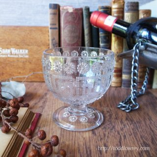 Antique Pressed Glass Tumbler