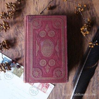 ヴィクトリアンの人気作家の本を想い出に / Antique Book