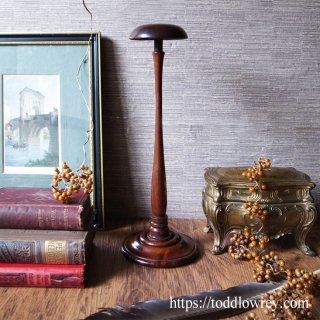 エドワーディアンの風を感じる端正なスタンド / Antique Edwardian Hat Stand(Wig Stand)